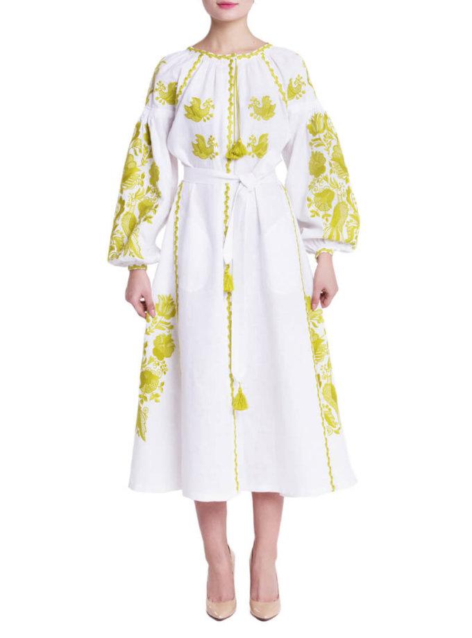 Платье вышиванка Дария FOBERI_01103, фото 1 - в интеренет магазине KAPSULA