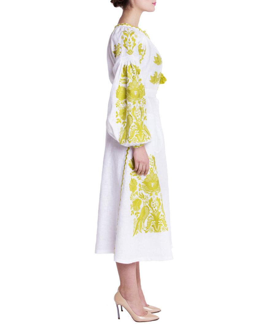 Платье вышиванка Дария FOBERI_01103, фото 1 - в интернет магазине KAPSULA