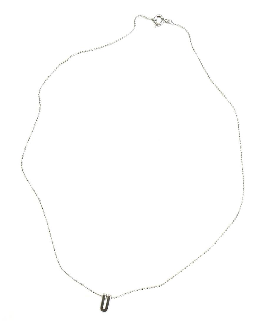 Цепочка LETTER с подвеской-буквой