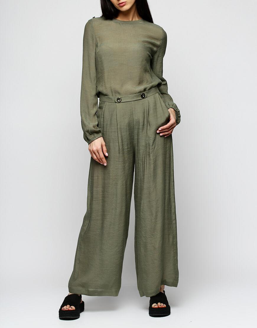Купить Укороченные широкие брюки