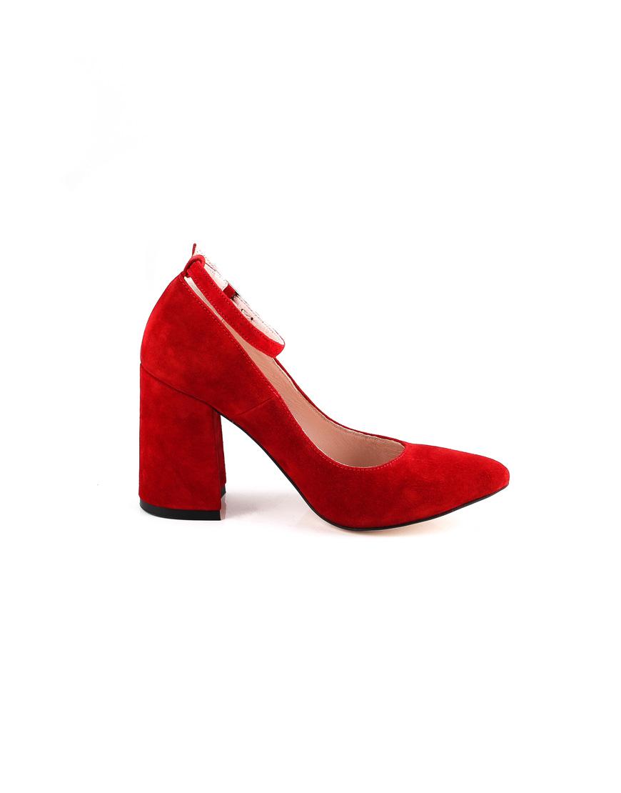 Туфли Jackie Velvet с ремешком