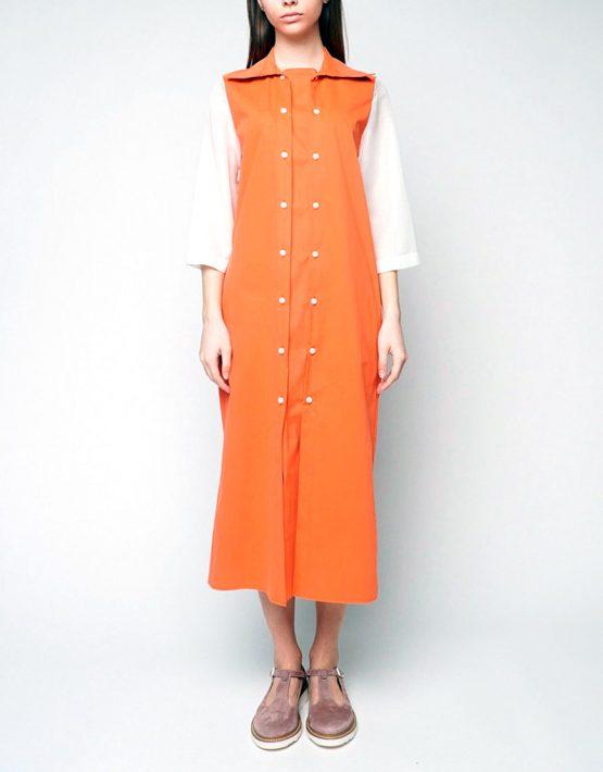 Платье рубашка INS_SS1801_5_outlet, фото 4 - в интеренет магазине KAPSULA