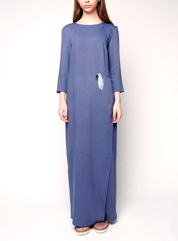 Платье макси из штапеля INS_SS1802_9_outlet, фото 1 - в интернет магазине KAPSULA