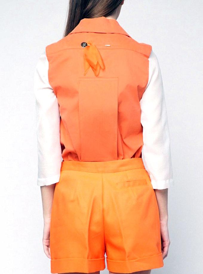 Рубашка из полупрозрачной ткани INS_SS1807_5_outlet, фото 1 - в интернет магазине KAPSULA