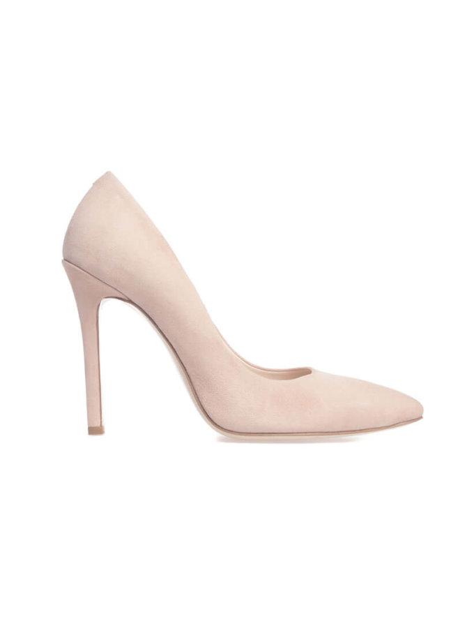 Туфли Mistress Nude из замши MRSL_097111, фото 1 - в интеренет магазине KAPSULA