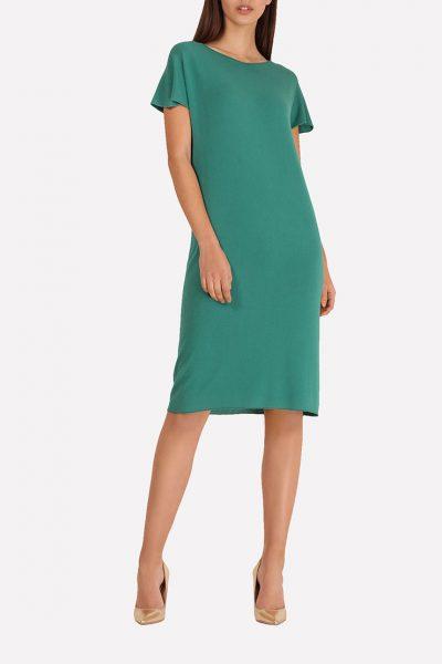 Бесшовное вязаное платье JND_16-140604_3, фото 5 - в интеренет магазине KAPSULA