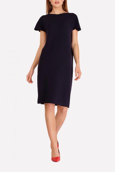 Бесшовное вязаное платье JND_16-140604_2, фото 1 - в интеренет магазине KAPSULA