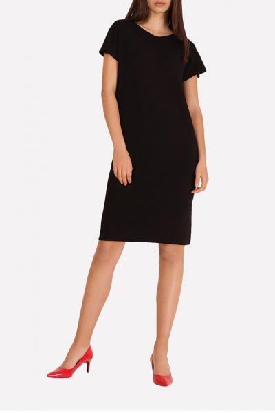 Бесшовное вязаное платье JND_16-140604_1, фото 4 - в интеренет магазине KAPSULA