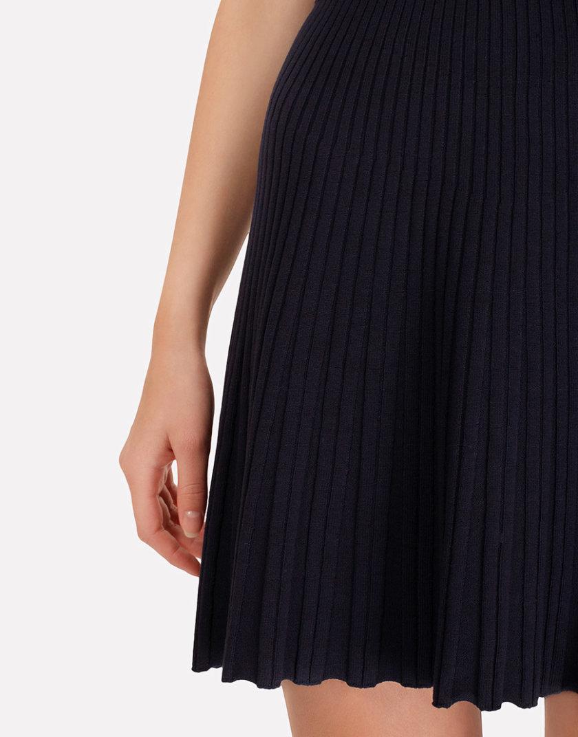 Легкая вязаная юбка плиссе JND_18-140504_2, фото 1 - в интернет магазине KAPSULA
