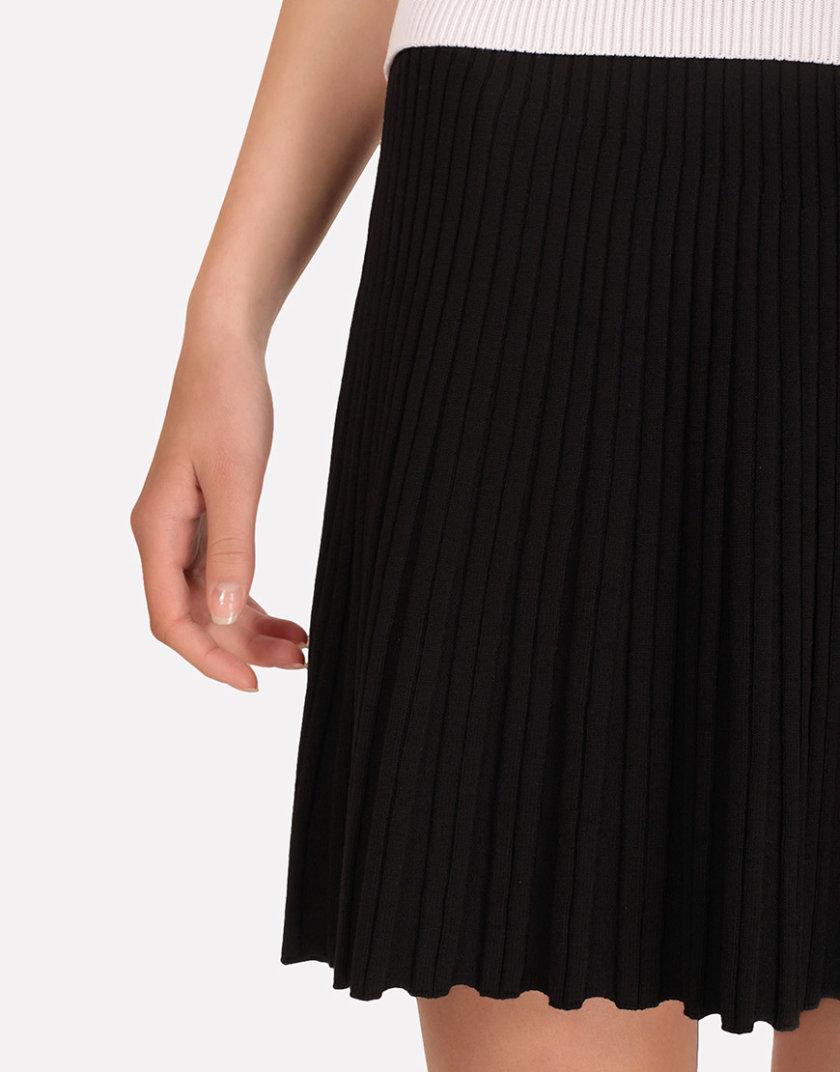 Легкая вязаная юбка плиссе JND_18-140504_3, фото 1 - в интернет магазине KAPSULA