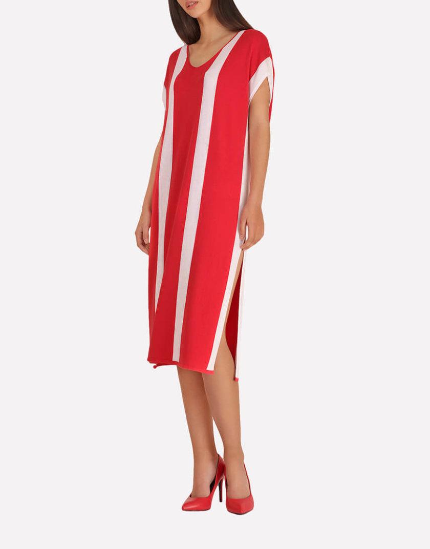 Вязаное платье-туника JND_18-140605_2, фото 1 - в интернет магазине KAPSULA