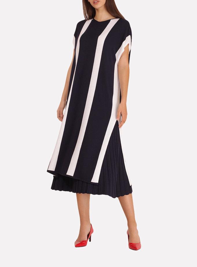 Вязаное платье-туника JND_18-140605_1, фото 1 - в интернет магазине KAPSULA