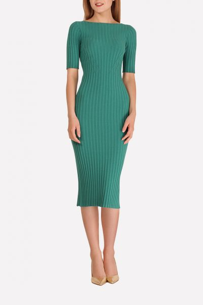 Бесшовное платье-футляр JND_18-140606_1, фото 4 - в интеренет магазине KAPSULA