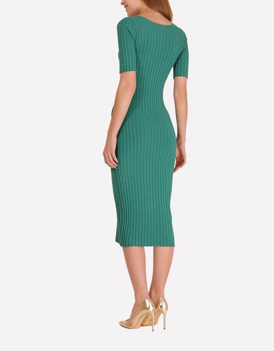 Бесшовное платье-футляр JND_18-140606_1, фото 5 - в интеренет магазине KAPSULA