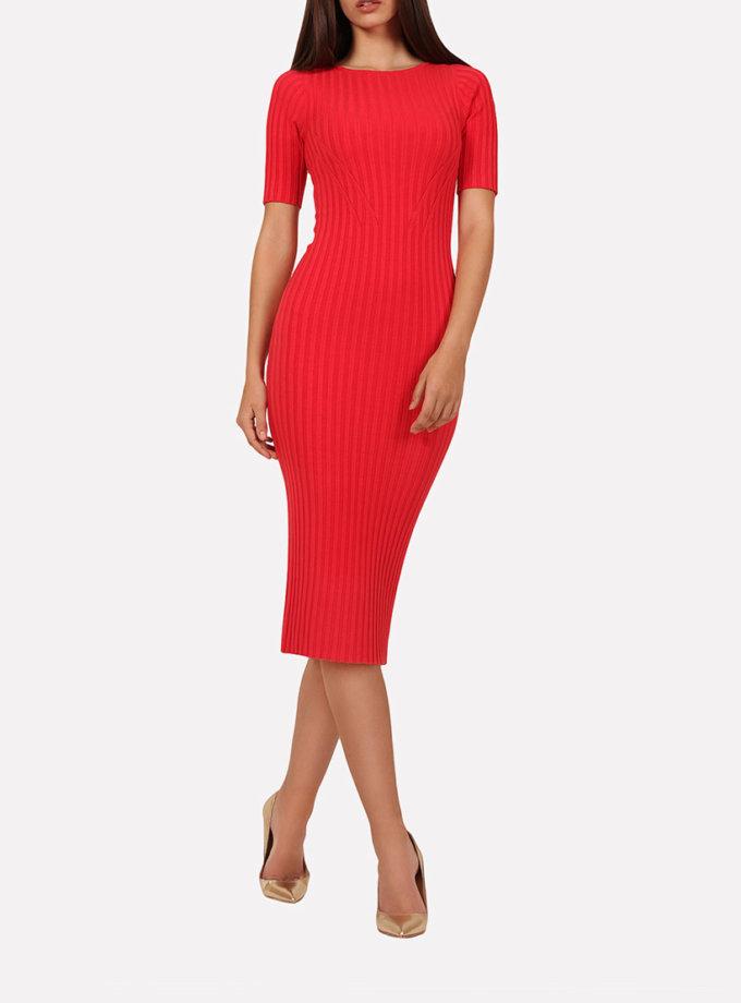 Бесшовное платье-футляр JND_18-140606_2, фото 1 - в интеренет магазине KAPSULA