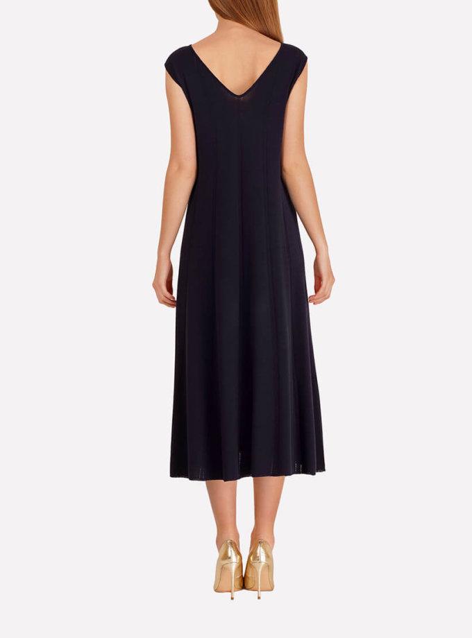 Бесшовное вязаное платье JND_18-140607_2, фото 1 - в интернет магазине KAPSULA