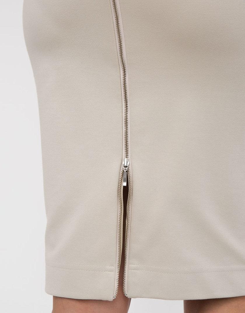 Юбка карандаш с молнией  по всей длине SHKO_14060006_outlet, фото 1 - в интеренет магазине KAPSULA
