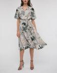Платье мини на запах SHKO_18054001_outlet, фото 5 - в интеренет магазине KAPSULA