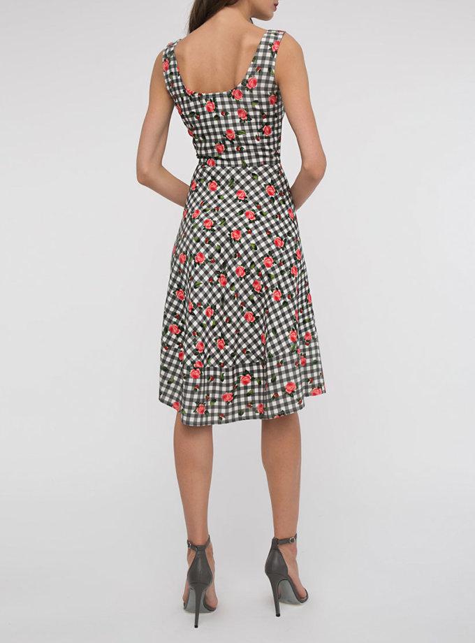 Платье с асимметричной юбкой SHKO_17003009_outlet, фото 1 - в интернет магазине KAPSULA
