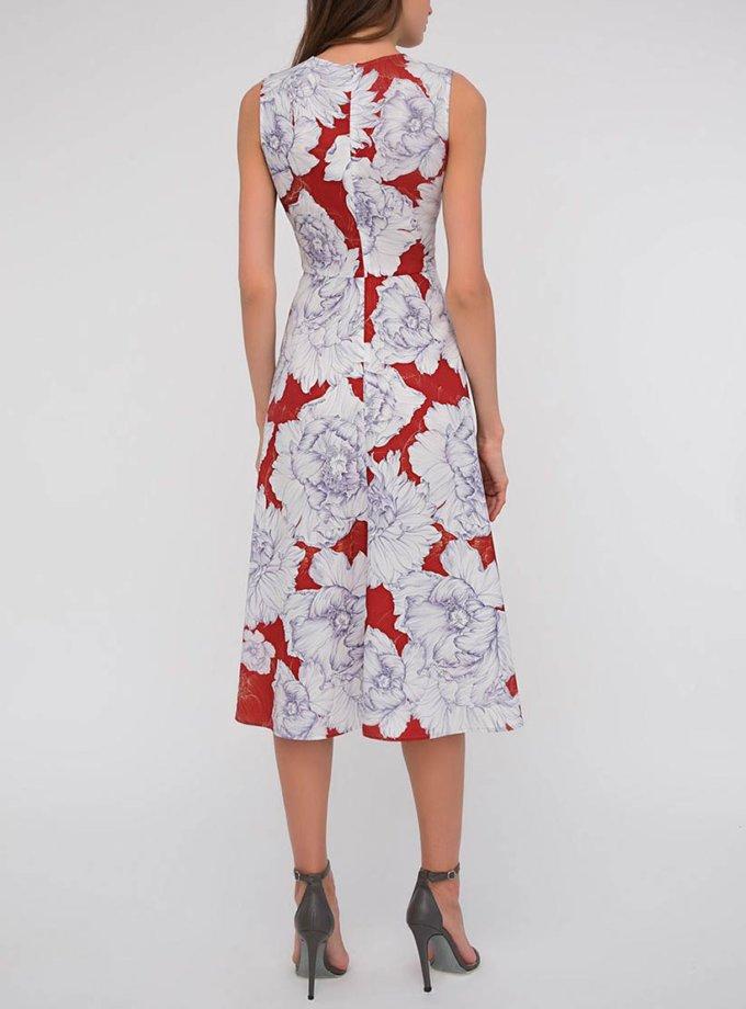 Легкое платье в принт SHKO_15014013_outlet, фото 1 - в интернет магазине KAPSULA