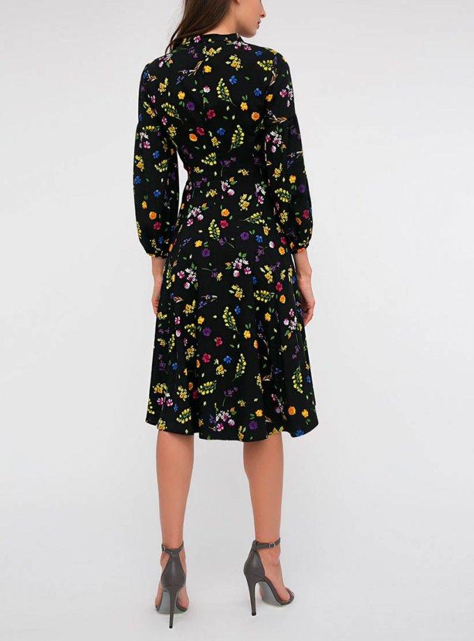 Платье с цветочным принтом SHKO_16062007_outlet, фото 1 - в интернет магазине KAPSULA