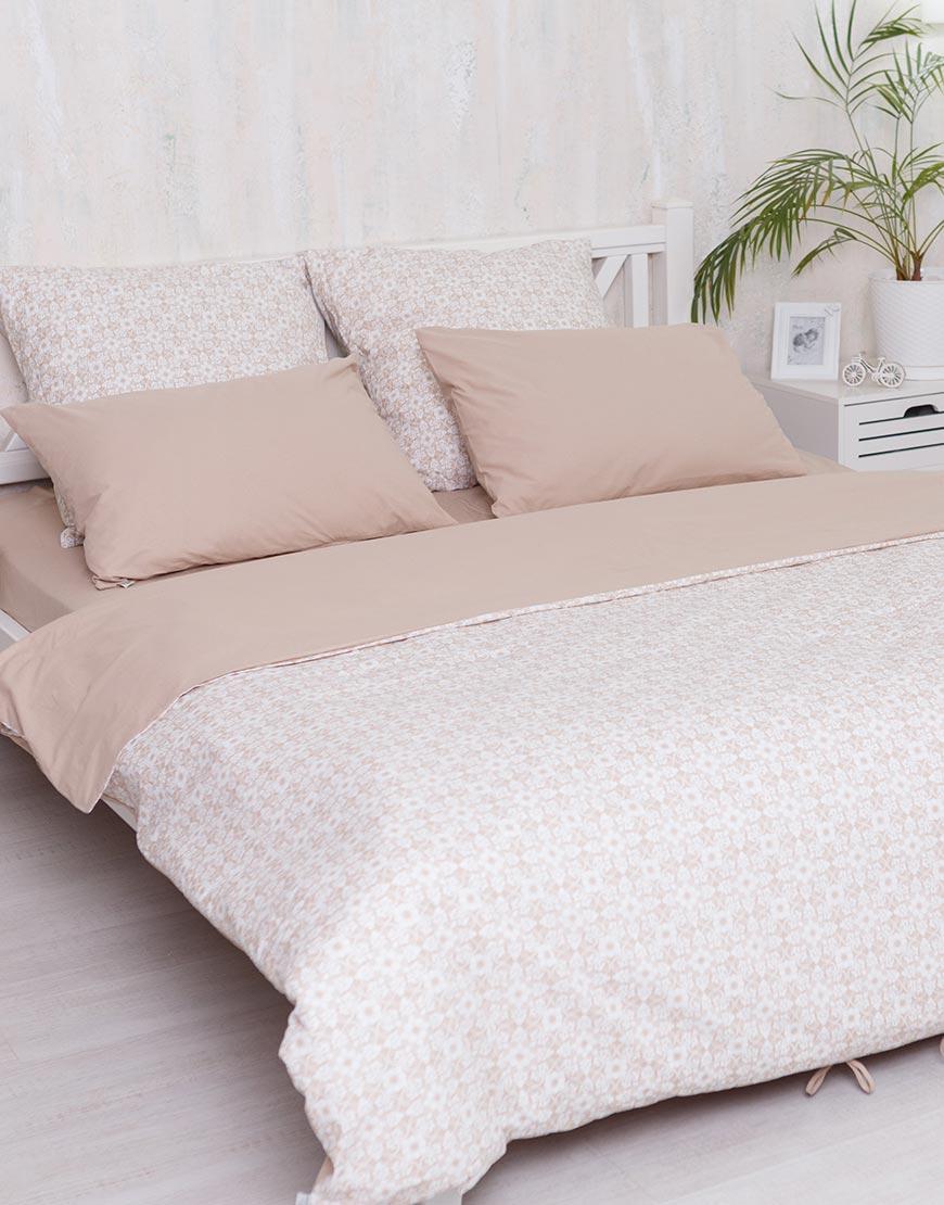 Комплект постельного белья Royal beige