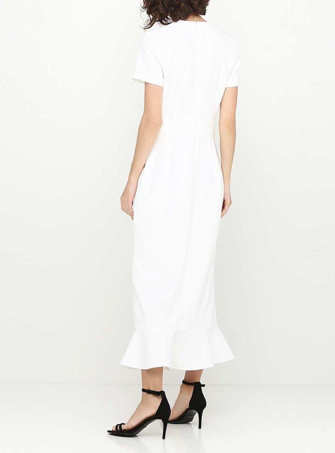 Платье макси полуприталенного силуэта AY_SS18_2357, фото 1 - в интернет магазине KAPSULA