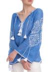 Льняной костюм с шортами NBL_02-KSHTL, фото 10 - в интеренет магазине KAPSULA