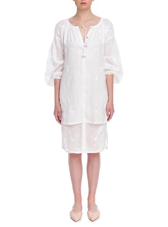 Платье вышиванка Сакура FOBERI_01171, фото 1 - в интернет магазине KAPSULA