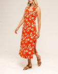Платье из  льна с лазерной шлифовкой ZHPN_Victorian_SS18_01-Silver_S, фото 3 - в интеренет магазине KAPSULA