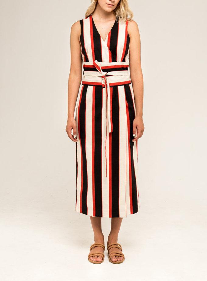 Платье в полоску PPMT_PM-33_strip, фото 1 - в интернет магазине KAPSULA