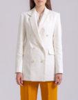 Полупрозрачная блуза WDS_FWW1907, фото 4 - в интеренет магазине KAPSULA