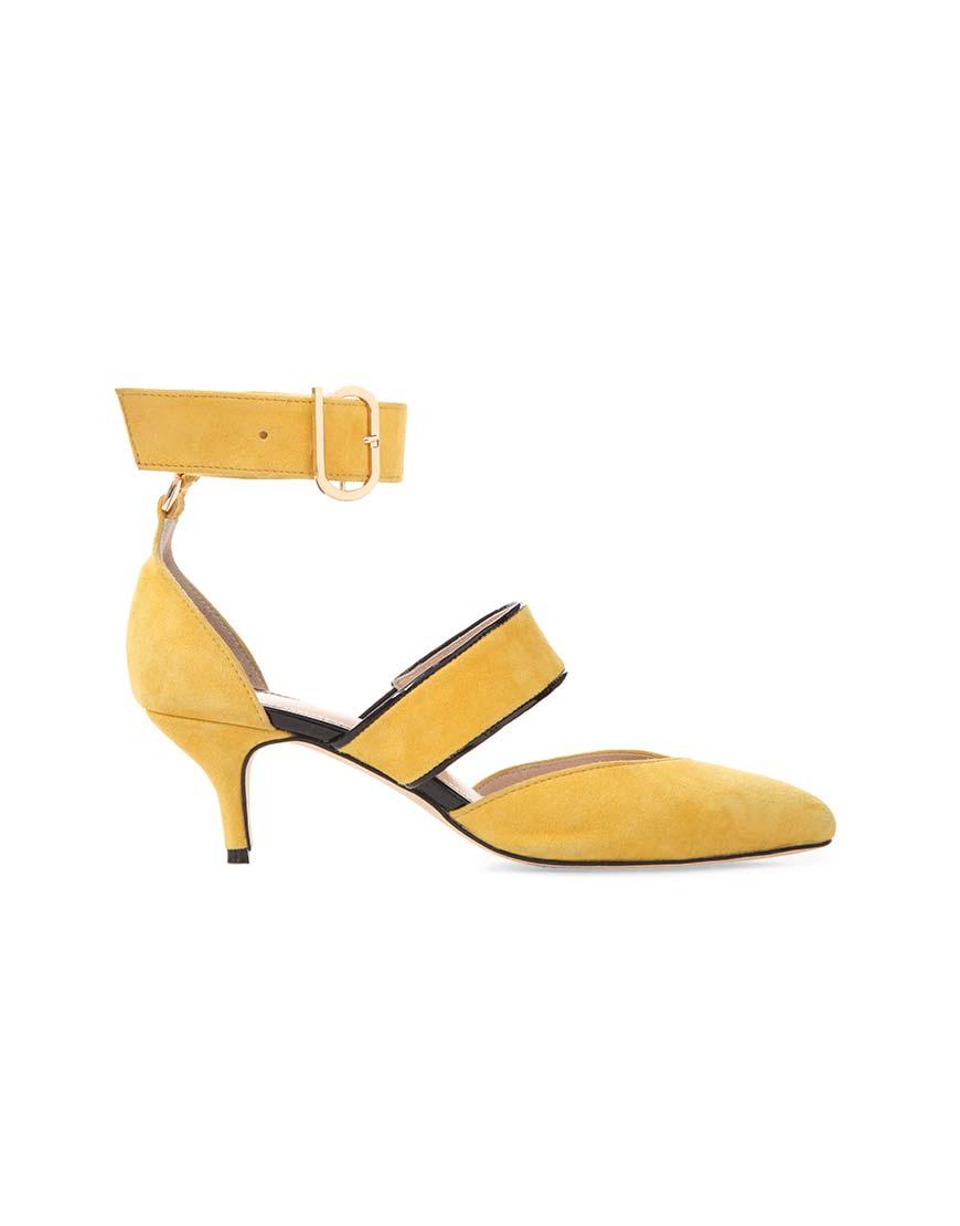 Туфли из замши