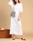 Платье макси с открытой спиной INS_Sum1805, фото 5 - в интеренет магазине KAPSULA
