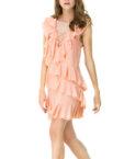 Платье макси из двойного шифона WAB_2229010202, фото 2 - в интеренет магазине KAPSULA