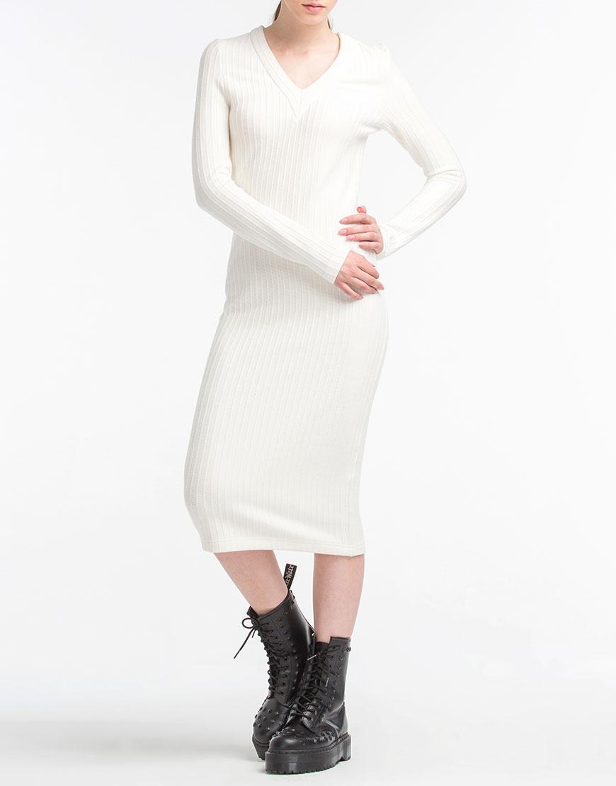 Купить Трикотажное платье из тонкой шерсти