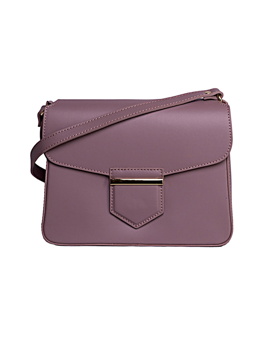 Сумка cross-body из гладкой кожи