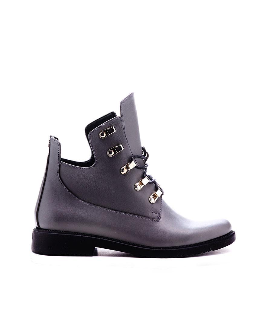 Ботинки с утеплителем gray