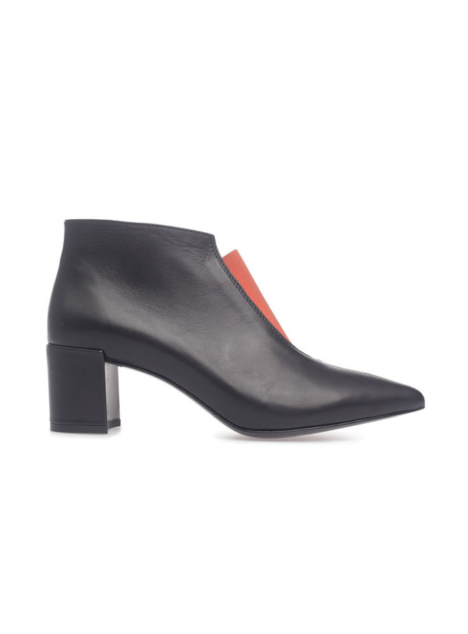 Кожаные ботинки Delta Black MRSL_924912_kapsula, фото 1 - в интеренет магазине KAPSULA