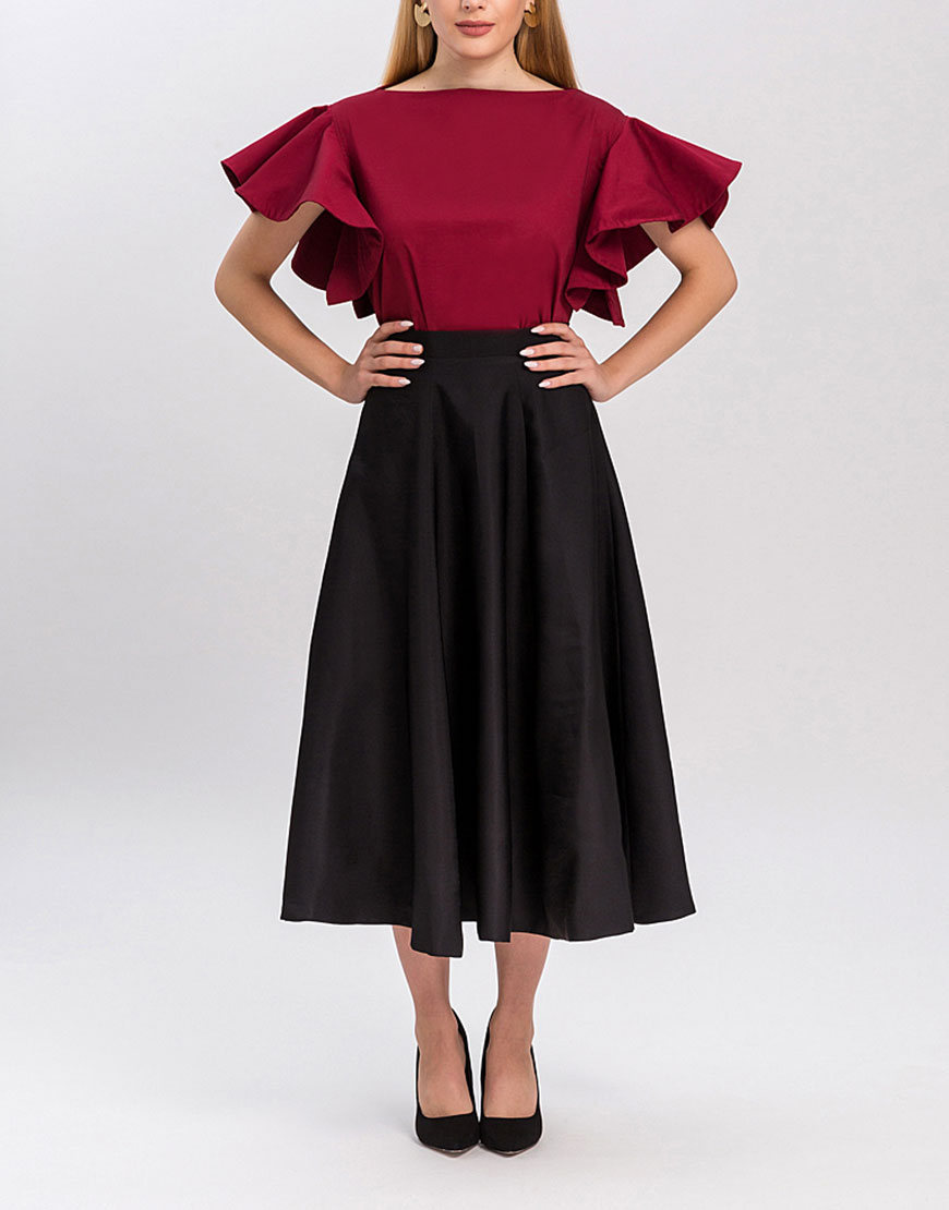 Блуза Parity с воланами