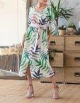 Льняное платье-рубашка MRND_М3, фото 3 - в интеренет магазине KAPSULA