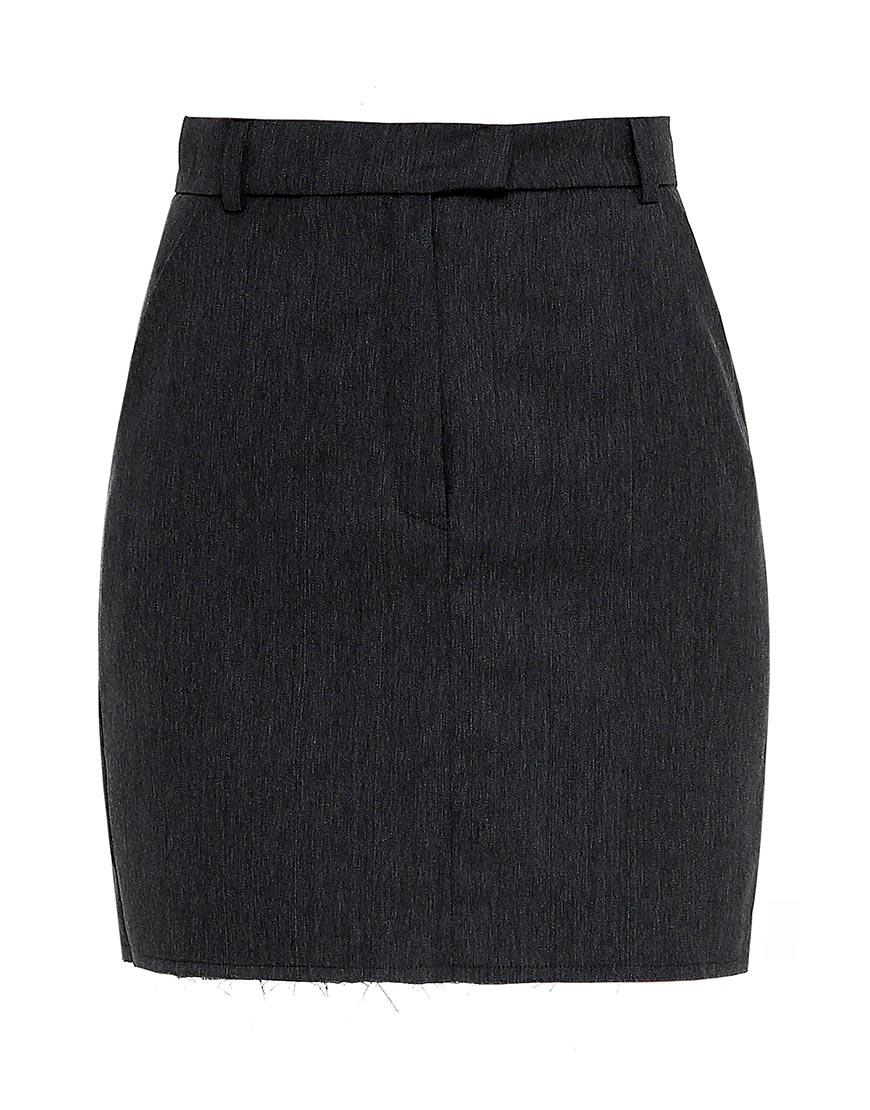 Купить Мини-юбка из шерсти без подклада