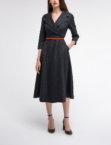 Платье из шерсти с юбкой клёш SHKO_17041002, фото 5 - в интеренет магазине KAPSULA