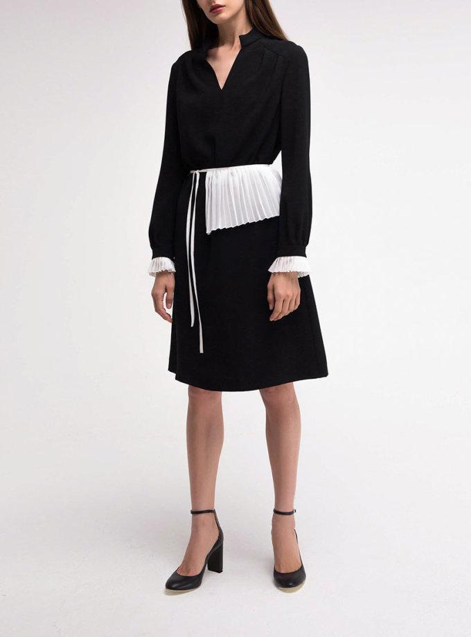 Платье со съёмным воротником SHKO_18037001, фото 1 - в интеренет магазине KAPSULA