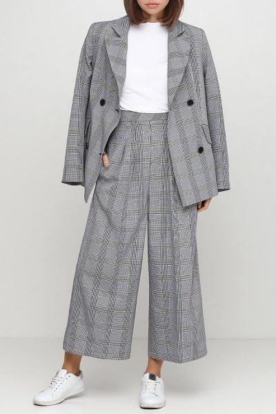 Укороченные брюки на высокой посадке AY_2448, фото 1 - в интеренет магазине KAPSULA