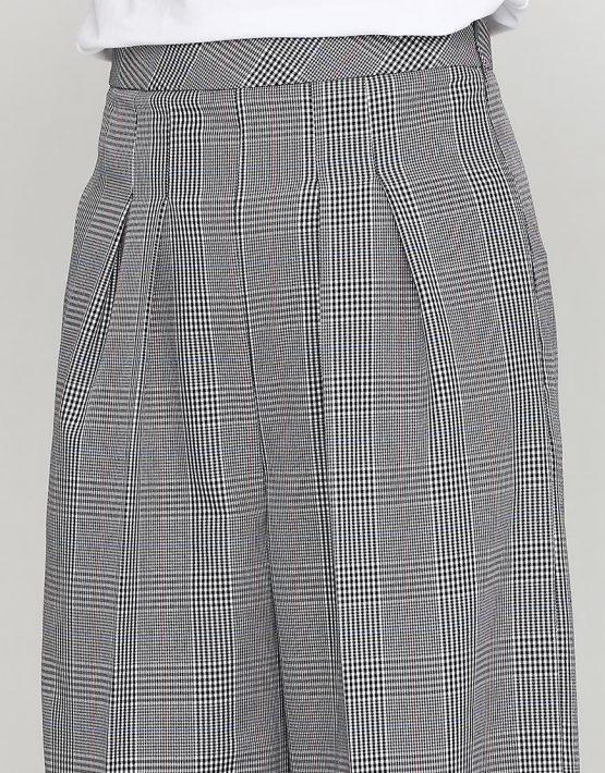 Укороченные брюки на высокой посадке AY_2448, фото 3 - в интеренет магазине KAPSULA