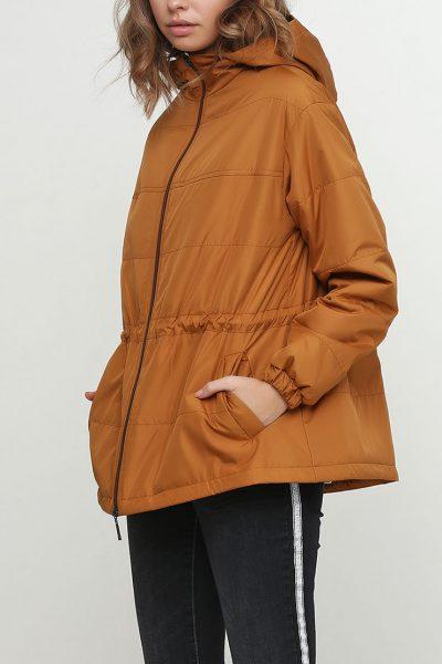Куртка с капюшоном и на кулиске AY_2459, фото 1 - в интеренет магазине KAPSULA