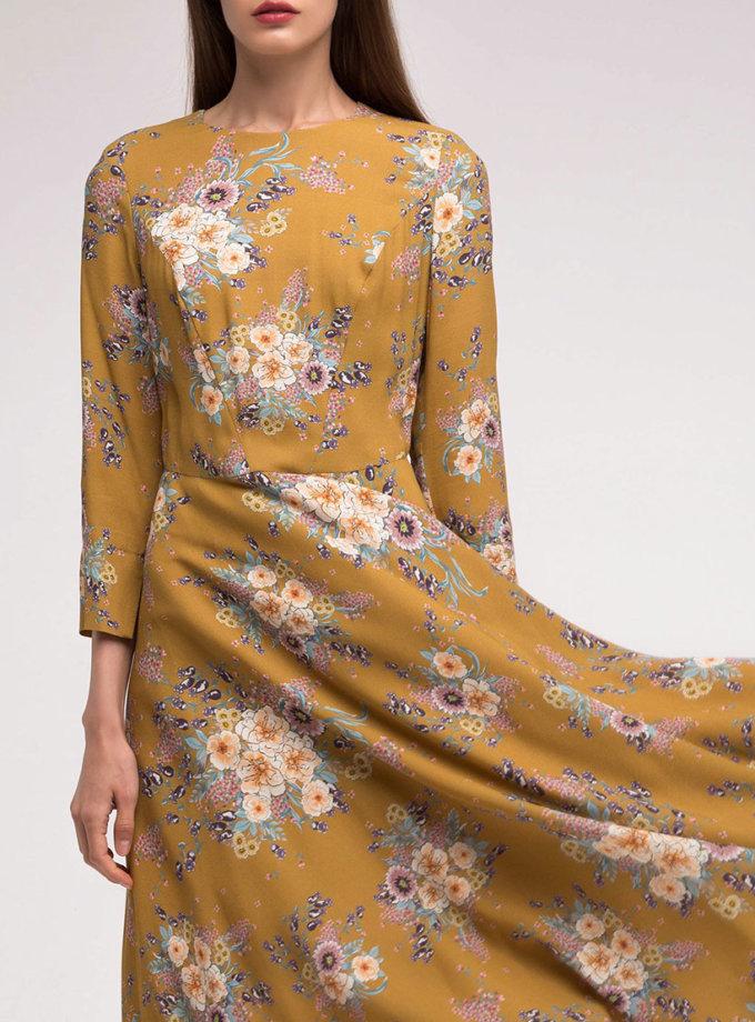 Платье с юбкой клёш SHKO_17041008_outlet, фото 1 - в интернет магазине KAPSULA