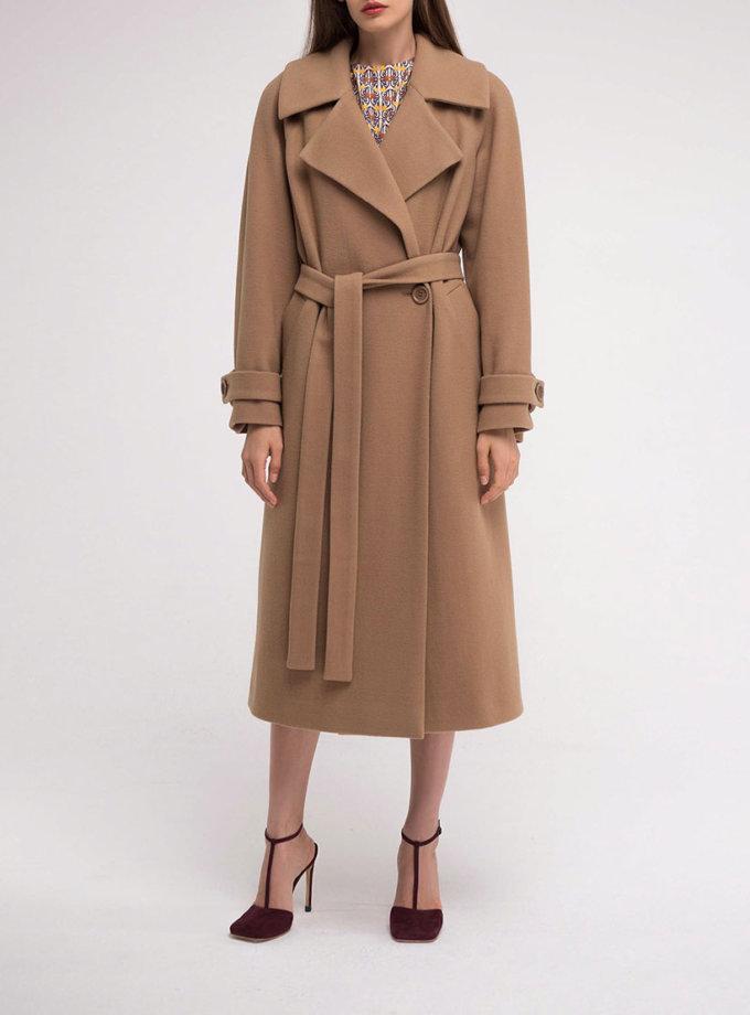 Пальто двубортное из шерсти SHKO_18049003, фото 1 - в интеренет магазине KAPSULA
