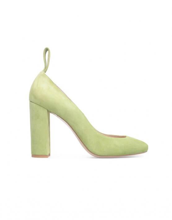 Замшевые туфли sample sale SAYYA_FW828_outlet, фото 5 - в интеренет магазине KAPSULA